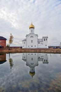 Богородицерождественский храм пос. Поварово