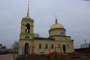 Михаило- Архангельский храм д. Вертлино