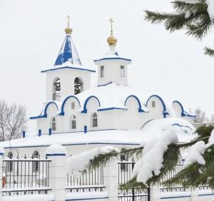 Покровский храм д. Новая