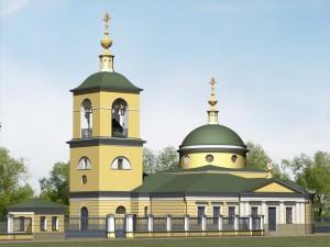 Проект Покровского храма д. Рузино