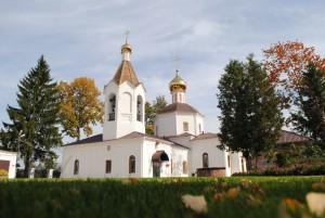 Спасский храм пос. Андреевка