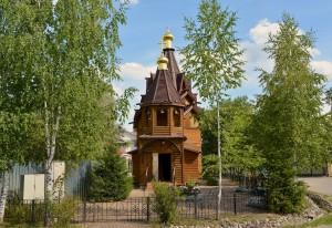 Знаменский храм пос. Голубое